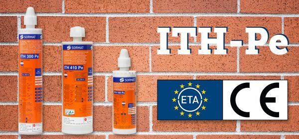 ITH-Pe is an ETA-approved resin for masonry!