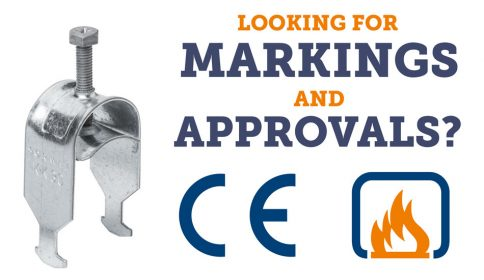 Sormat cable clamps are CE-marked and fire approved